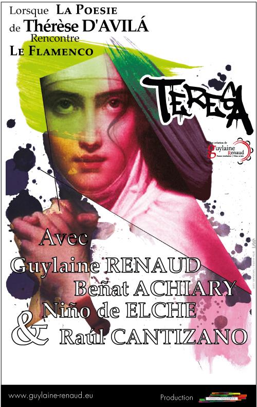 affiche web teresa by Guylaine RENAUD