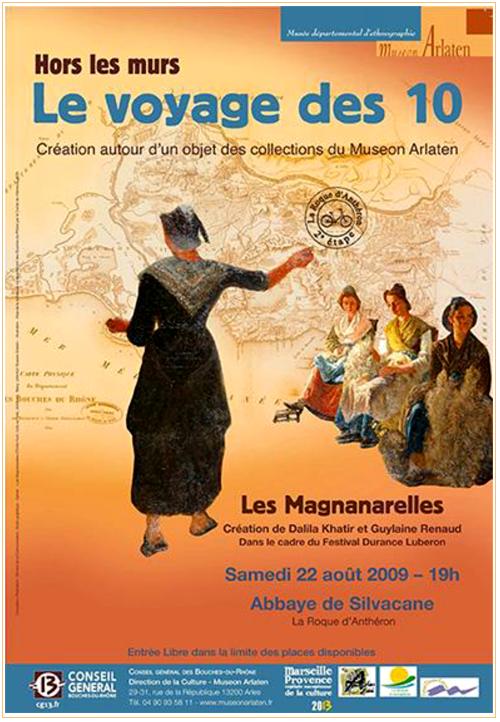 Les Magnanarelles Museon Arlaten par Guylaine RENAUD