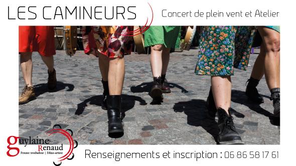 Les camineurs de Guylaine Renaud